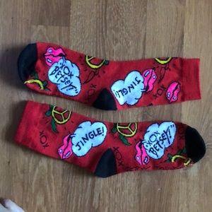 BETSY JOHNSON socks